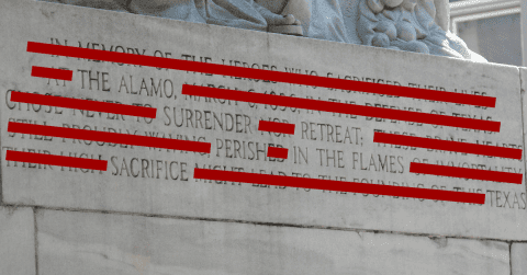 The Alamo Cenotaph Loophole in SB226