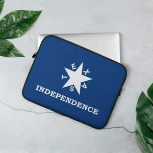 Texas Independence Laptop Sleeve
