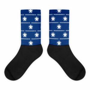 Texas Independence Socks