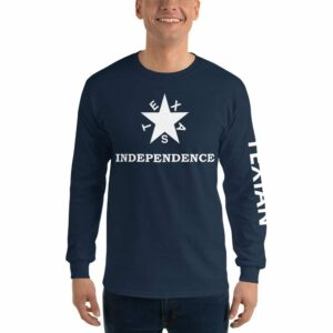 Texas Independence Men's Long Sleeve Shirt