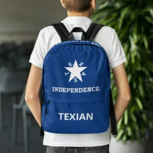 Texas Independence Backpack
