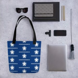 Texas Independence Tote Bag