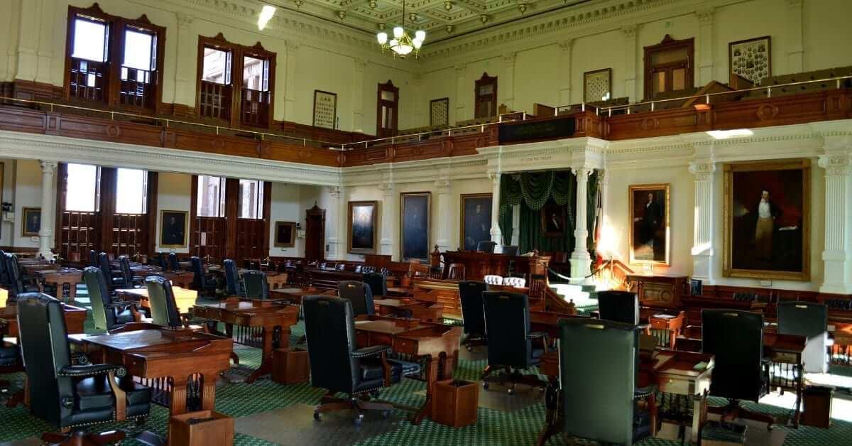 Which legislators support TEXIT?