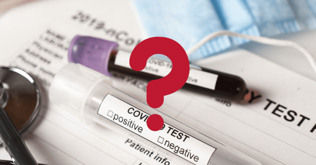How is the government defining COVID cases?