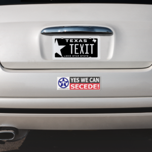 Yes We Can SECEDE – Bumper Sticker
