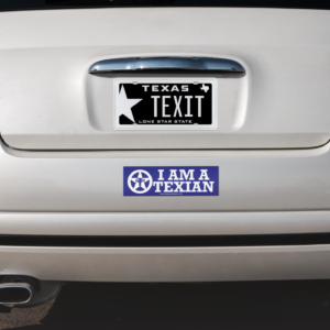 I AM A TEXIAN – Bumper Sticker